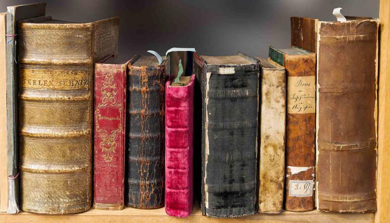 Ein Blick auf Bücher